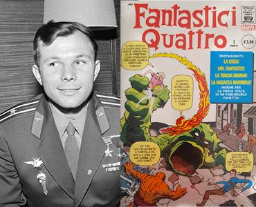 Yuri Gagarin e fantastici quattro