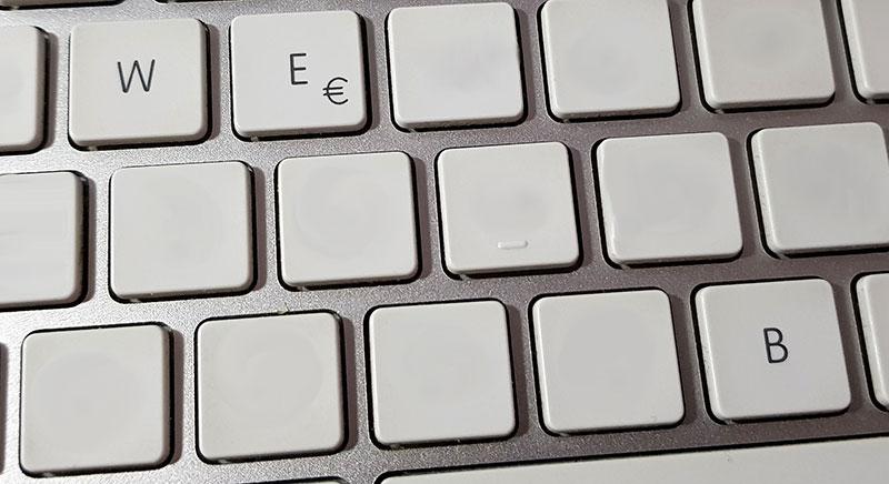 tastiera web
