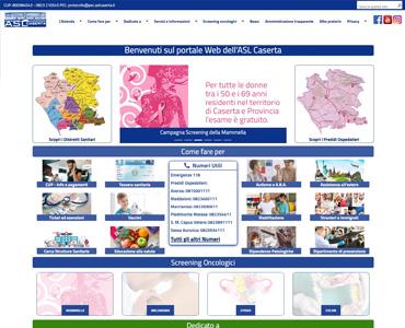sito web asl caserta